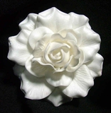 "GARDENIA FLOWER HAIR PICK FGAR3  3"" Inches"