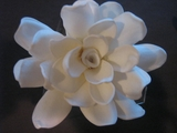 "GARDENIA FLOWER HAIR PICK FGAR8     3"" Inches"