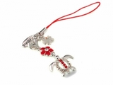 Hawaiian Turtle Honu Phone Charm Strap Red