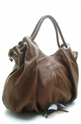 SLOUCHY ROPE HOBO HANDBAG