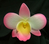 ORCHID FLOWER HAIR PICK or CLIP