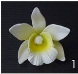 CATTLEYA ORCHID FLOWER HAIR PICK