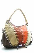 MULTICOLORED SWEETHEART LARGE  HANDBAG