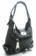 LARGE ZIPPER HANDBAG