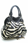 ZEBRA PRINT SNEAK PEAK TOTE
