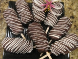 BOX OF 6 CHOCOLATE COVERED CARAMEL DIPPED MARSHAMALLOW DELIGHTS