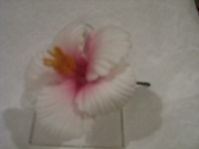HIBISCUS FLOWER SMALL  HAIR PICK