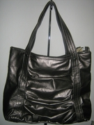 PEWTER HOBO HANDBAG