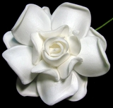"3"" GARDENIA FLOWER HAIR PICK FGAR5    3"" Inches"