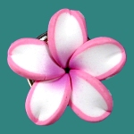 PLUMERIA FLOWER TOE RING