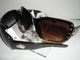 OVERSIZED DESIGNER INSPIRED WOMENS FASHION SUNGLASSES BROWN