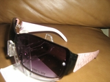 OVERSIZED DESIGNER INSPIRED WOMENS FASHION SUNGLASSES PINK