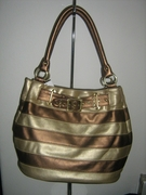 DESIGNER INSPIRED TRENDY METALLIC MULTICOLORED HOBO HANDBAG