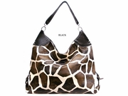 GIRAFFE PRINT LARGE SHOPPER