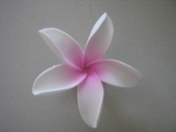 VERY POINTED PETAL PLUMERIA FLOWER HAIR  PICK
