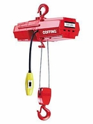 Coffing 500 lb Light Duty Wire Rope Hoist
