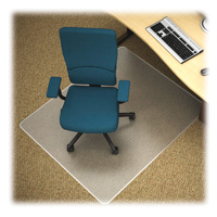 Medium Pile Carpet Chairmat 36x48 Rectangle