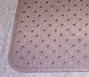 Affordable Vented Chair Mat 36x48 Carpet with a 20 x12 lip Standard Thickness