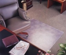 36x48 High Pile Carpet Chairmat Rectangle