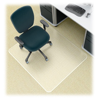 45x53 Low Pile Chair Mat For Carpet Rectangle