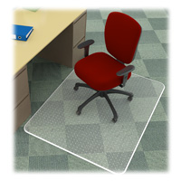 Desk Chair Mat 60x60 for Carpet Rectangle