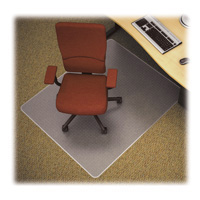 Vinyl Chairmat 72x72 rectangle for carpet