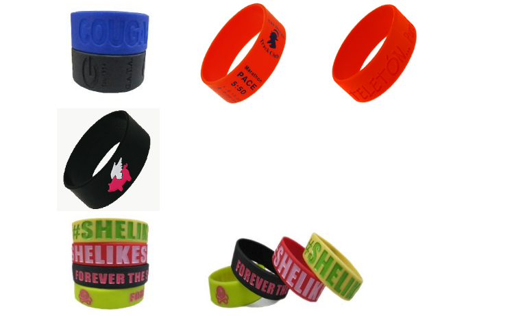 Wide Wristbands
