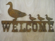 Welcome with Ducks