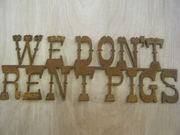 We Dont Rent Pigs