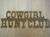 Cowgirl Hunt Club
