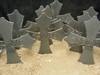 Metal Cross Garden Markers (Click Here for More)