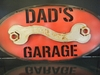 Metal Painted Garage Signs (Click Here for More)