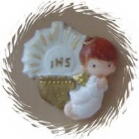 Cold Porcelain Baptism Favor R011