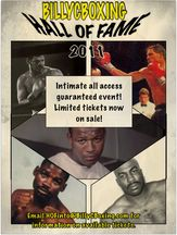 Billy C Boxing Hall of Fame All-Day Banquet - November 19th, 2011 - Upstate New York