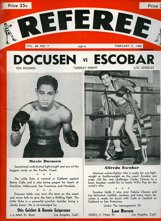 Image result for maxie docusen boxer