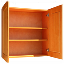 Wall Cabinets Construction Specifications 100% Solid Wood