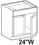 "Modular Bathroom Vanity Sink Base Cabinet 24""W x 21""D x 34.5""H Click to Select Color"