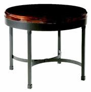 Cedervale Iron Cafe Table