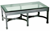 Cedervale Iron Cocktail Coffee Table