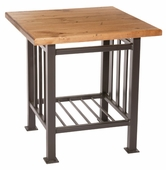 Mission Iron Side Table