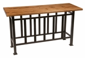 Mission Iron Console Table