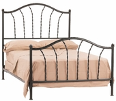 French Country Iron Bed