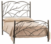Birch Iron Bed
