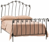 Georgetown Iron Sleigh Bed