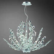 Fiorenza- 8 Light Pendant<br>Faceted Hand Cut Crystal