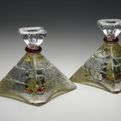 Pyramid Candle Holders