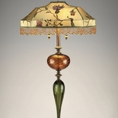 JAM-906 Floor Lamp with Beaded Shade