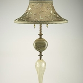 KYL-908 Floor Lamp with Bell Shade