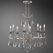 Roxy- 8 Light Oval Chandelier
