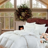 Fine Comforters & Pillows <font color=b22222>SALE</font>